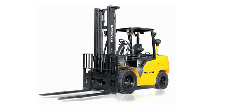 Hyundai Pneumatic Tire Diesel Powered Forklift