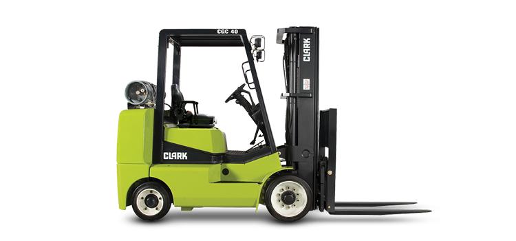 Clark Cushion Tire Forklift