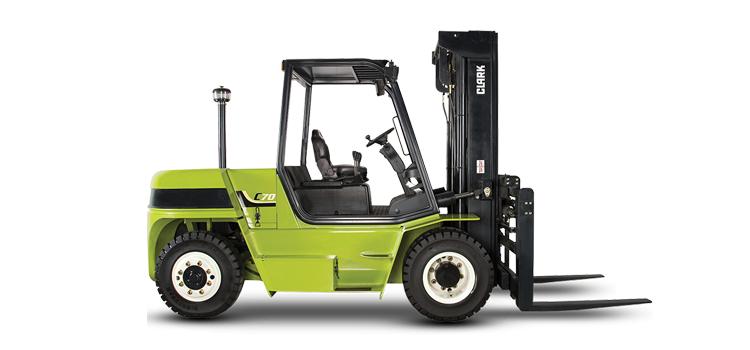 Clark Pneumatic Forklift