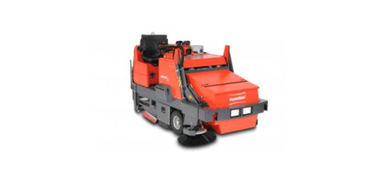 PowerBoss Sweeper-Scrubber Commander T82