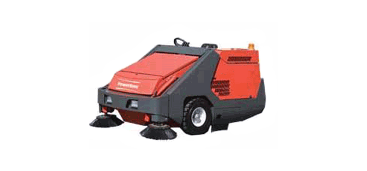 PowerBoss Rider Sweeper Armadillo 10X