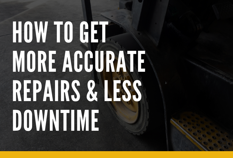 Get more accurate repairs and less downtime with a fleet management system that tracks your history