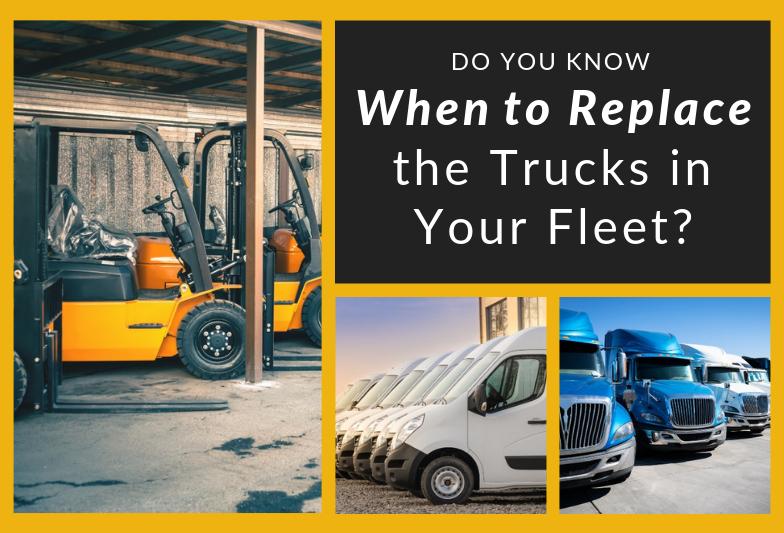 何时更换车队中的卡车
