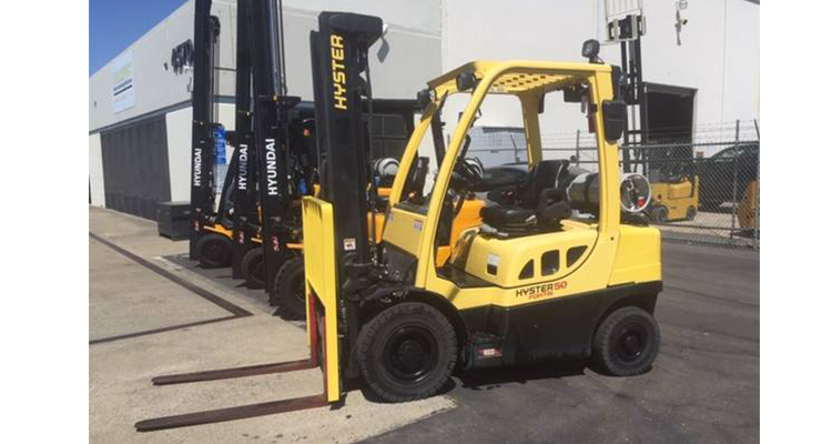 Hyster H50FT Used Forklift