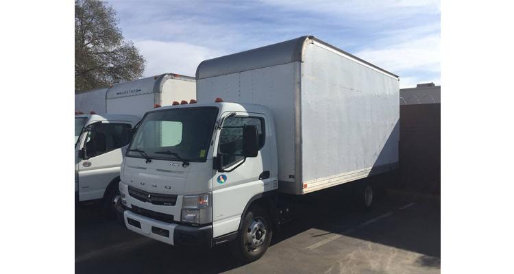 2012年扶桑16'箱型卡车