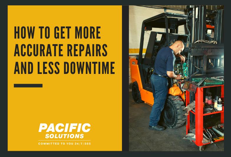 获得更准确的维修和更少的停机时间与车队管理系统,跟踪您的历史