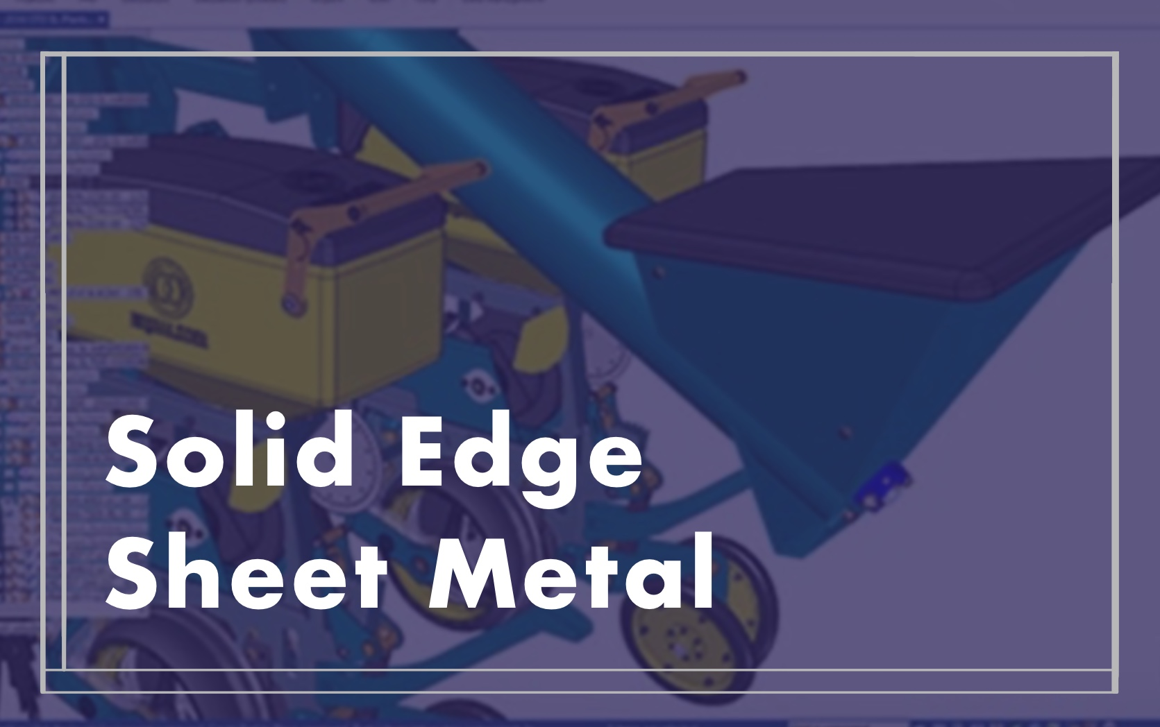 Solid Edge Sheet Metal