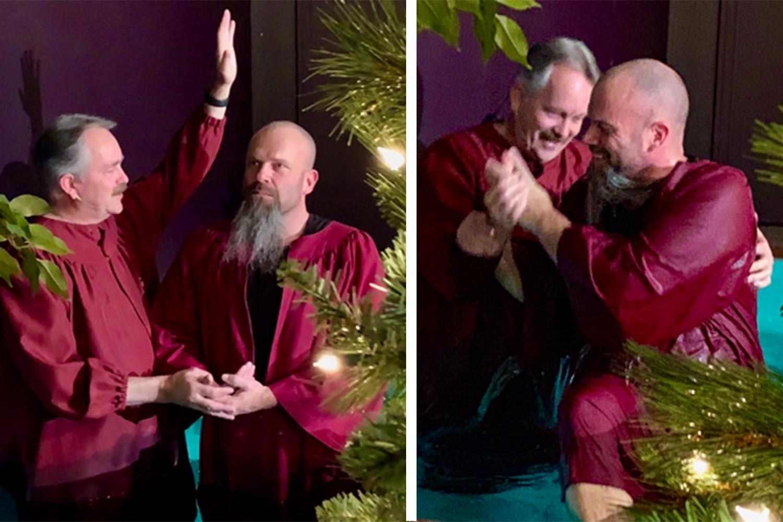 A Christmas Baptism