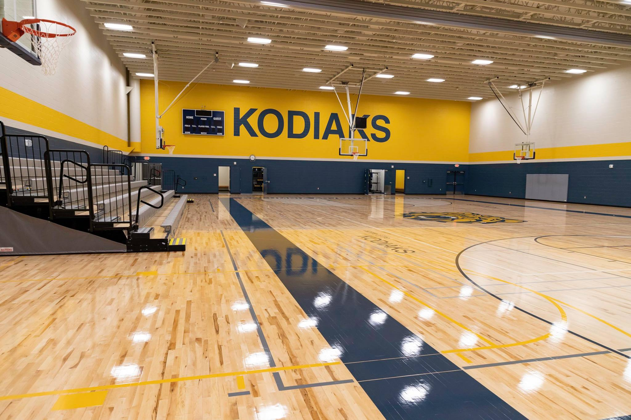 Columbia Academy Celebrates Completion of New Gym