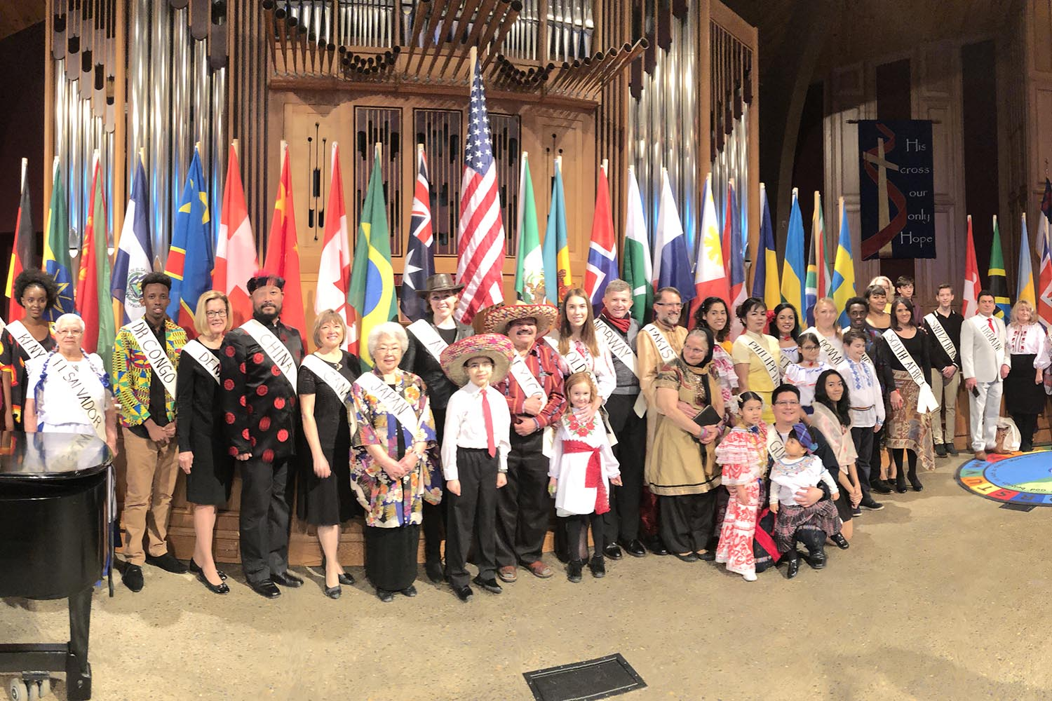 Sunnyside Church Holds International Day