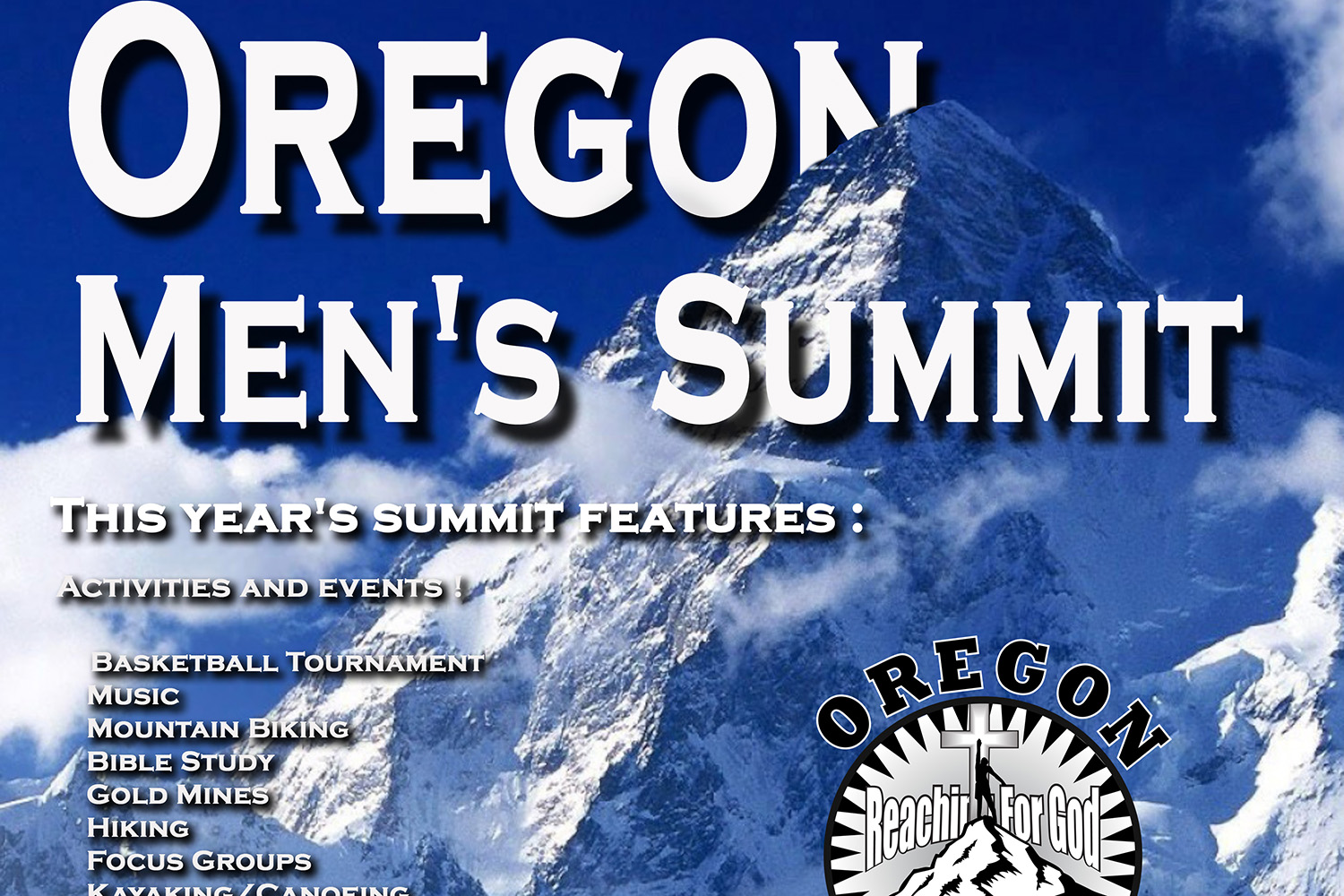 Oregon Men's Summit