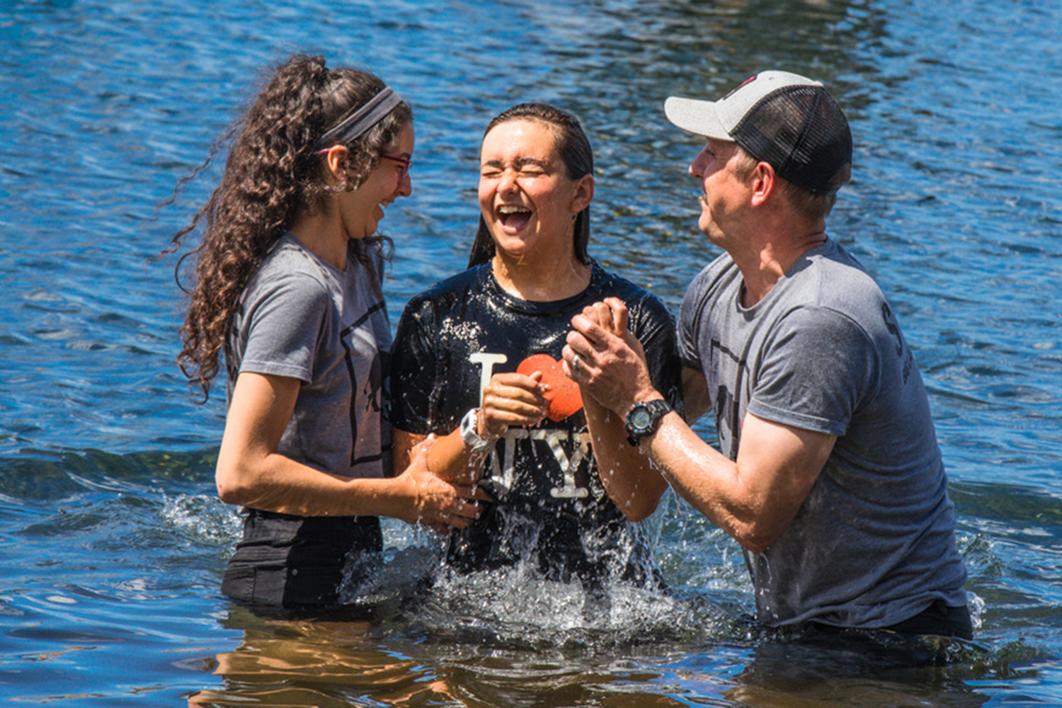 """I cannot imagine a better place to be baptized than Big Lake Youth Camp."""