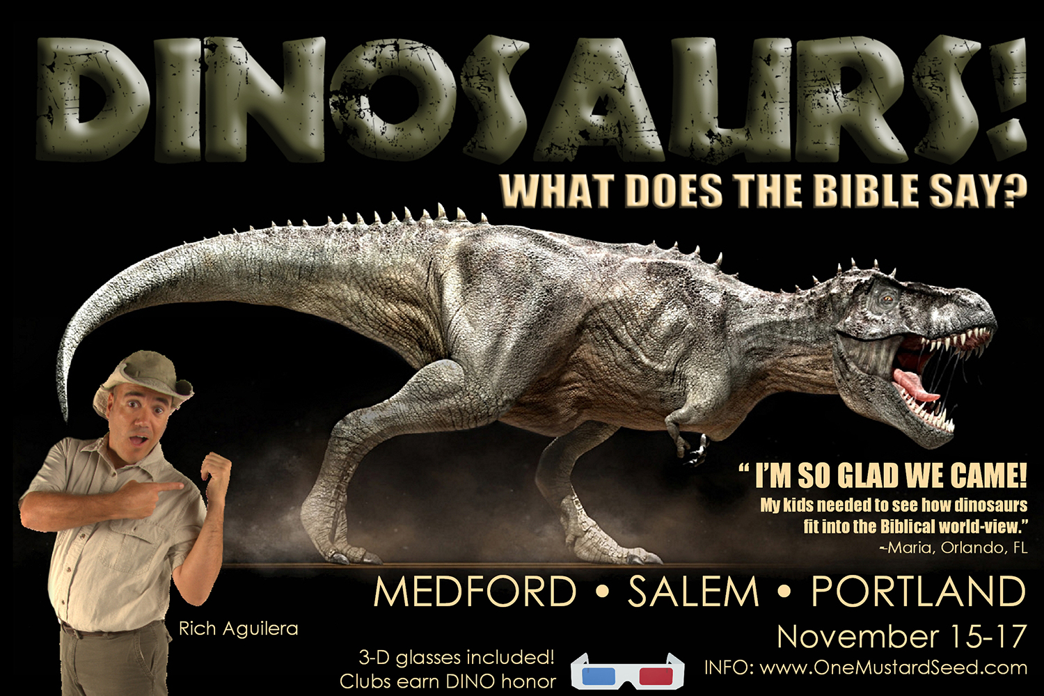 Dinosaurs! What does the Bible say? Live with Rich Aguilera!