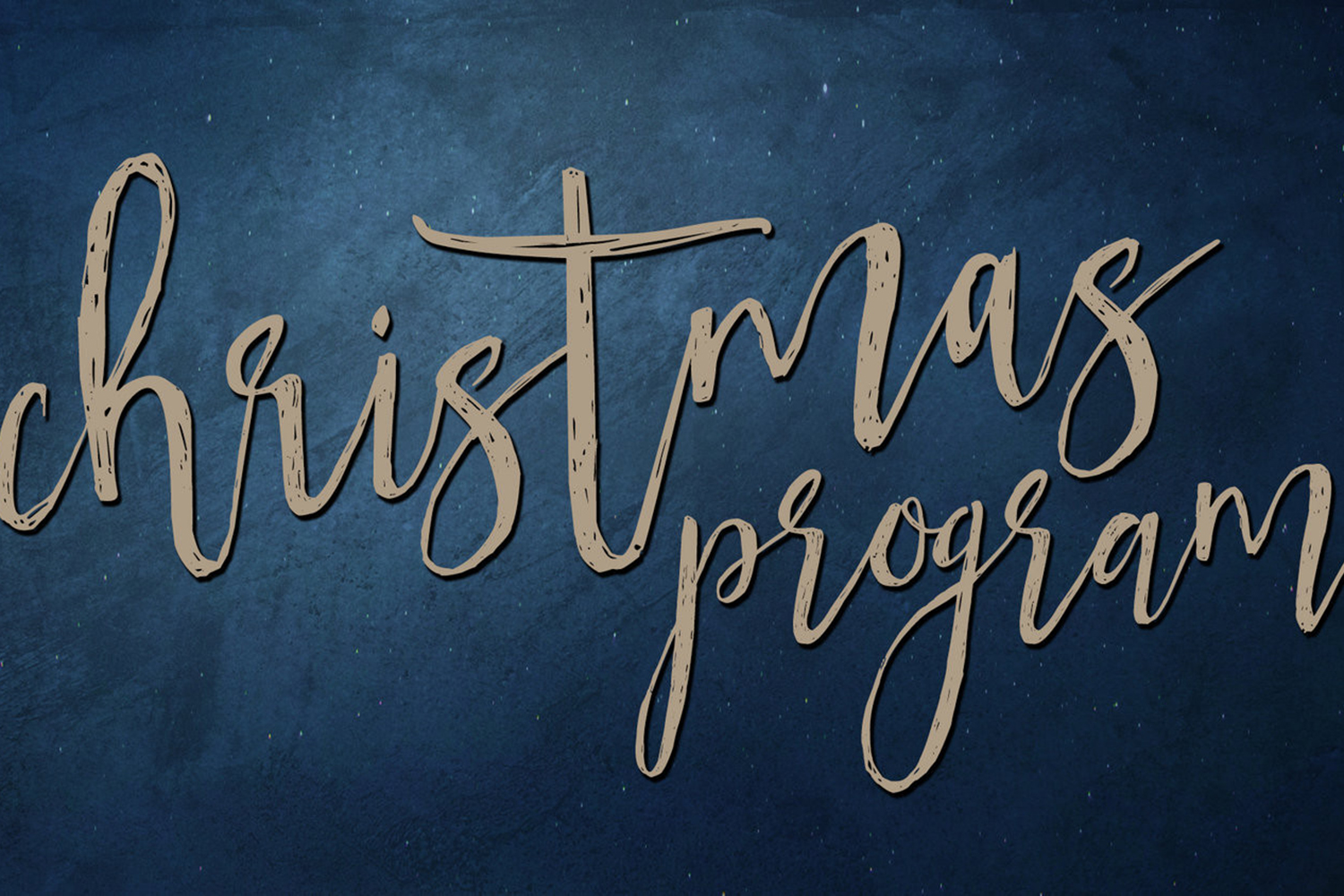 "Christmas Program –""The Gift"" – at the Grants Pass Seventh-day Adventist Church"