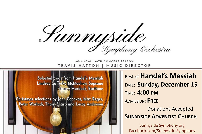 Sunnyside Symphony Orchestra Christmas Concert