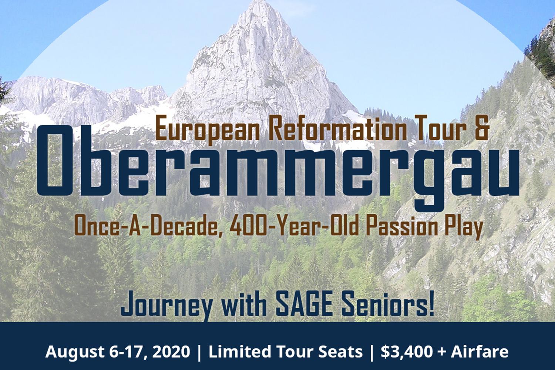 Washington SAGE European Reformation Tour 2020