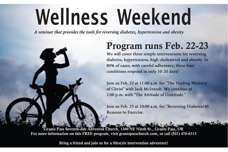 Wellness Weekend at Grants Pass