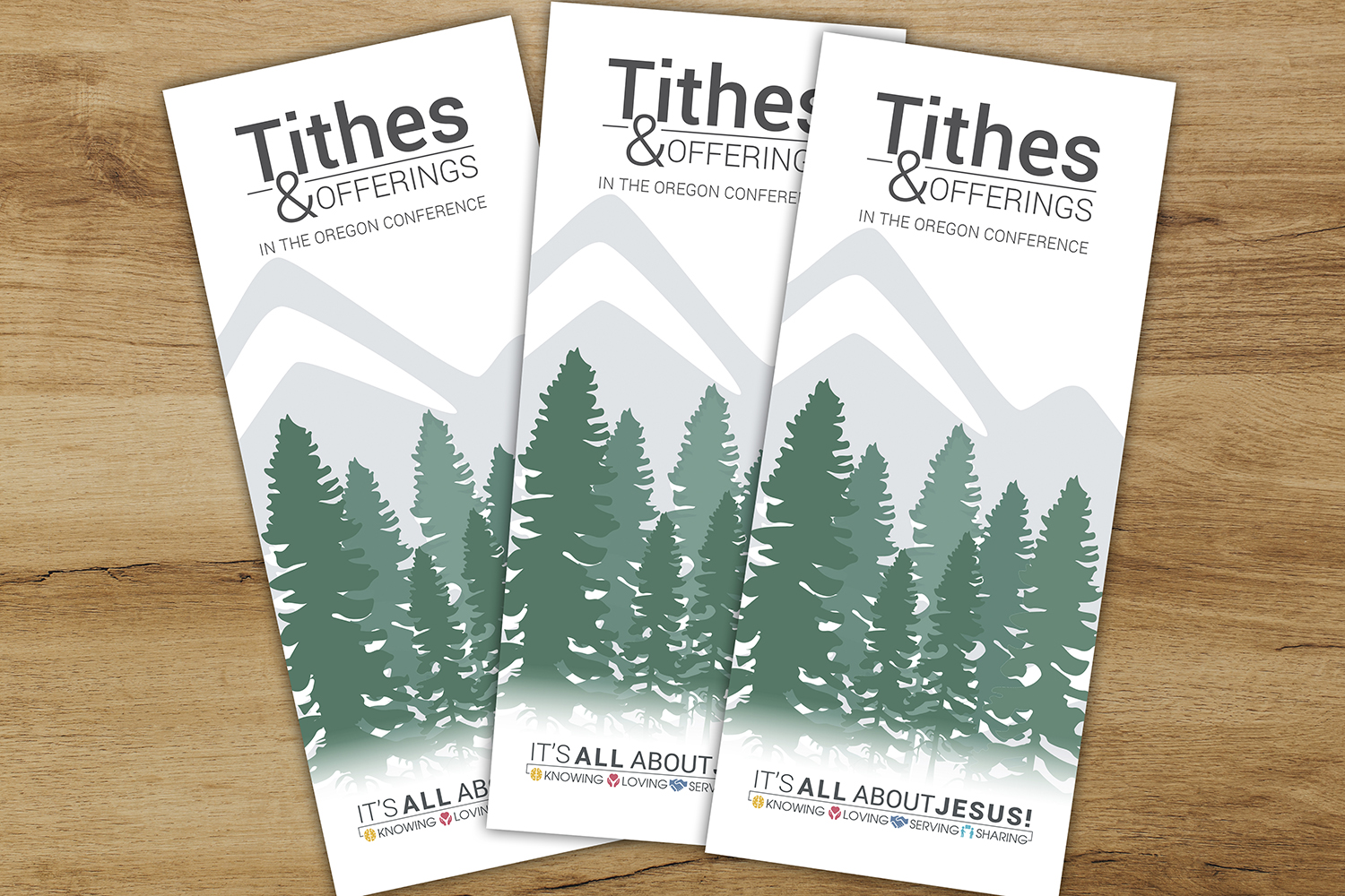 Brochure Created to Help Bring Transparency to Tithe and Offering Use in Oregon Conference