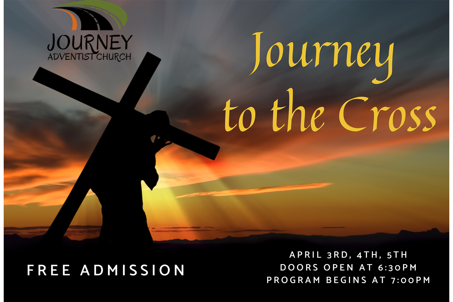 CANCELED: Journey to the Cross at Kelso-Longview