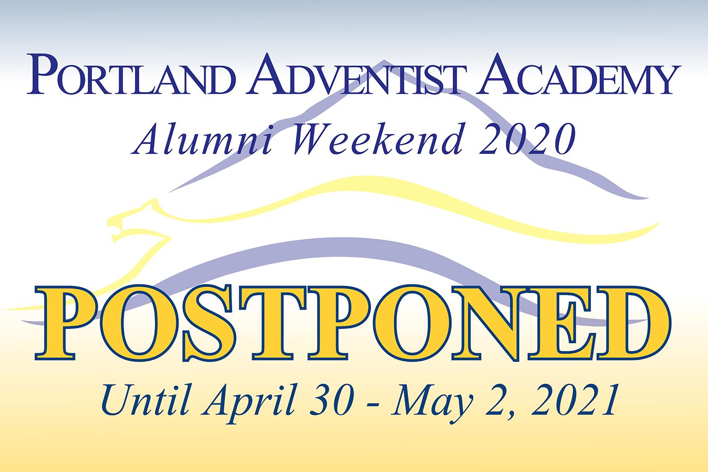 PAA Postpones Alumni Weekend