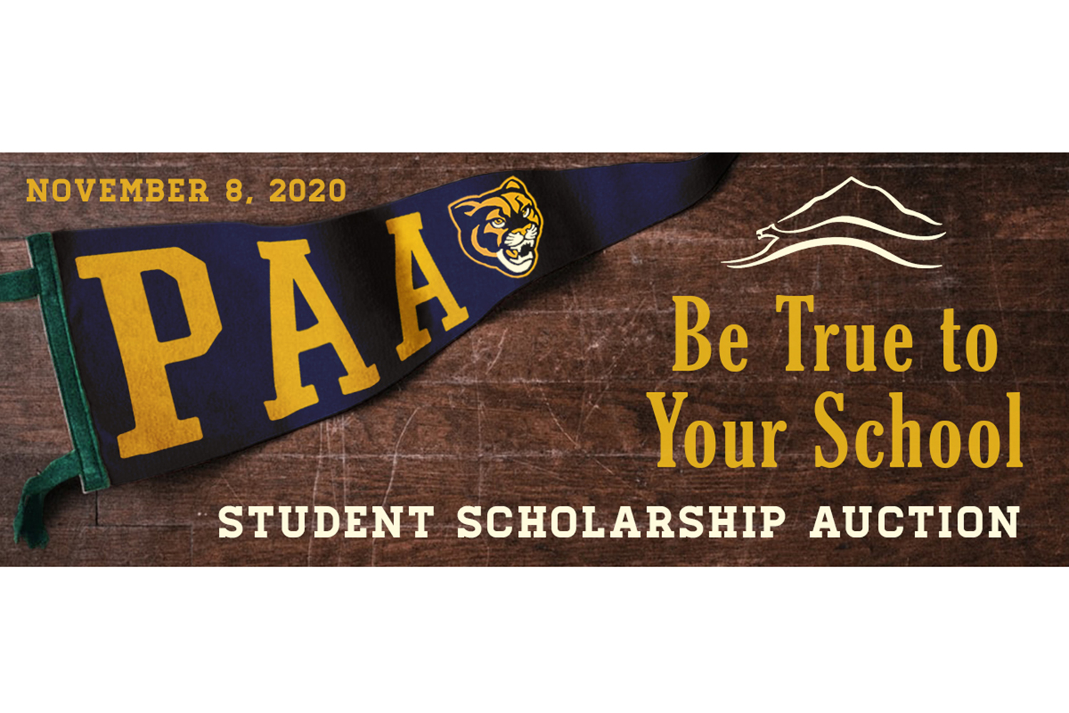 Virtual PAA Student Scholarship Auction (FREE)