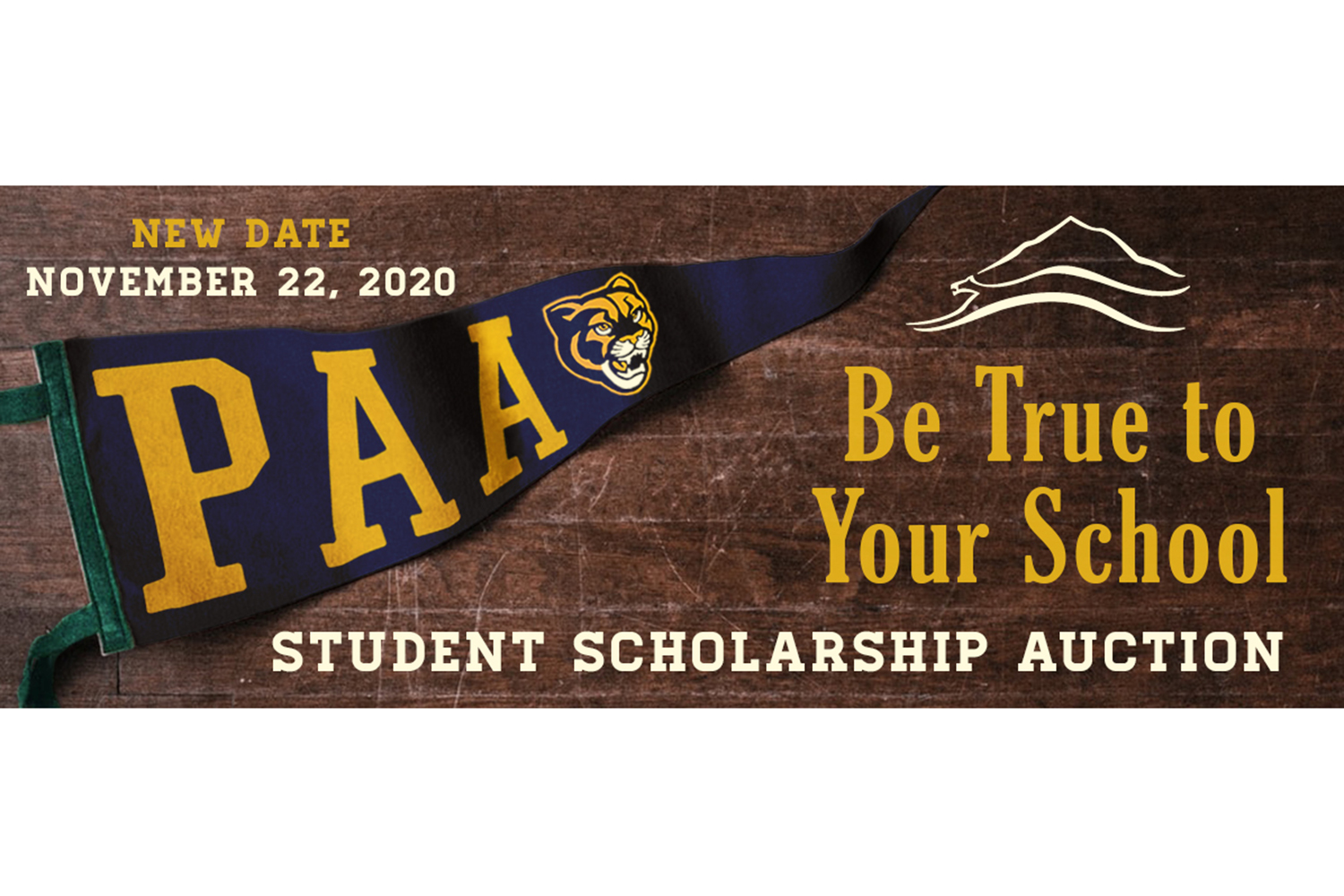 November 22: PAA Student Scholarship Auction