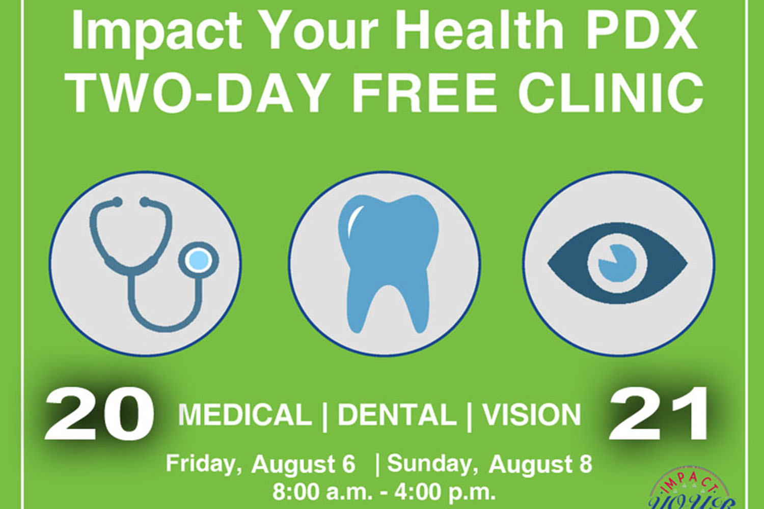 SAVE THE DATE: Impact Your Health PDX 2021
