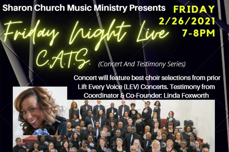 Friday Night Live Concert & Testimony Series