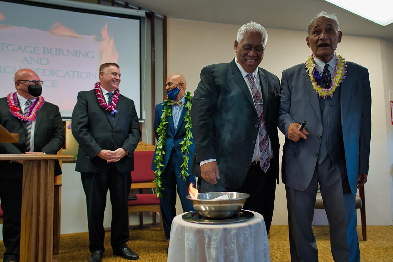 Samoan Church Celebrates Mortgage Burning