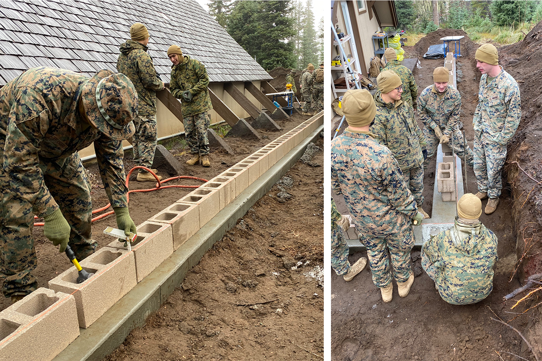 Marines Return to Help Out Big Lake