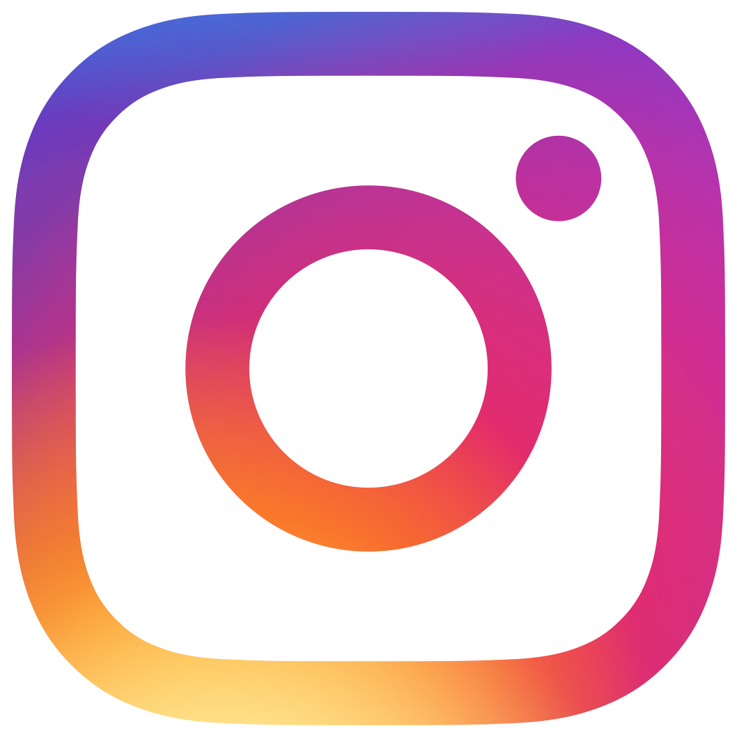 Instagram icon and link