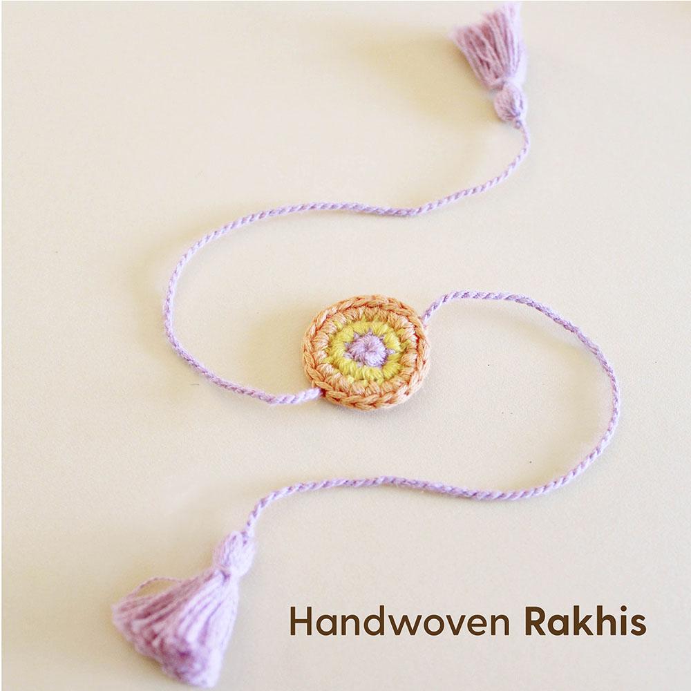 Handwoven rakhis