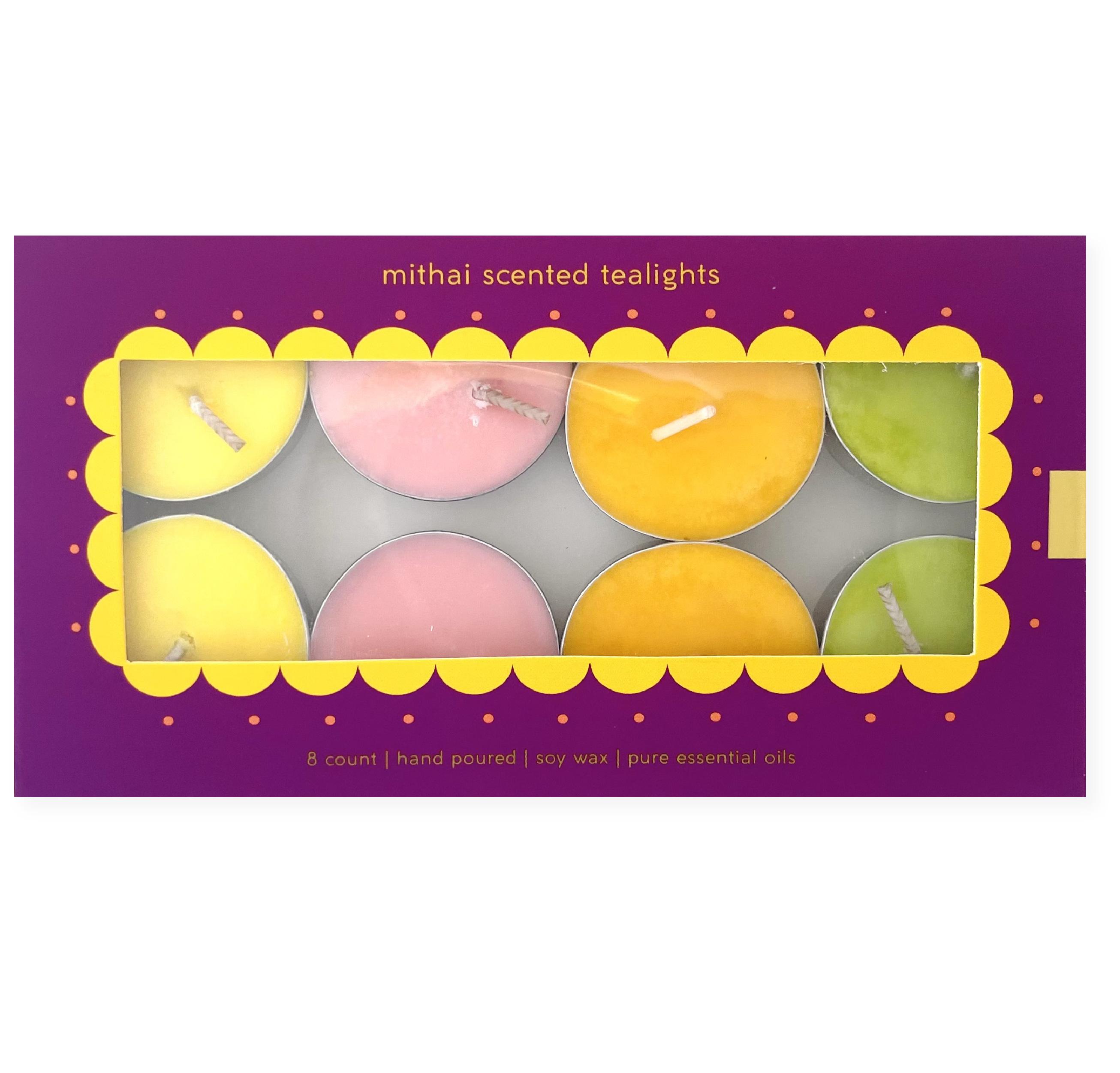 Purple Mithai Tealight Box