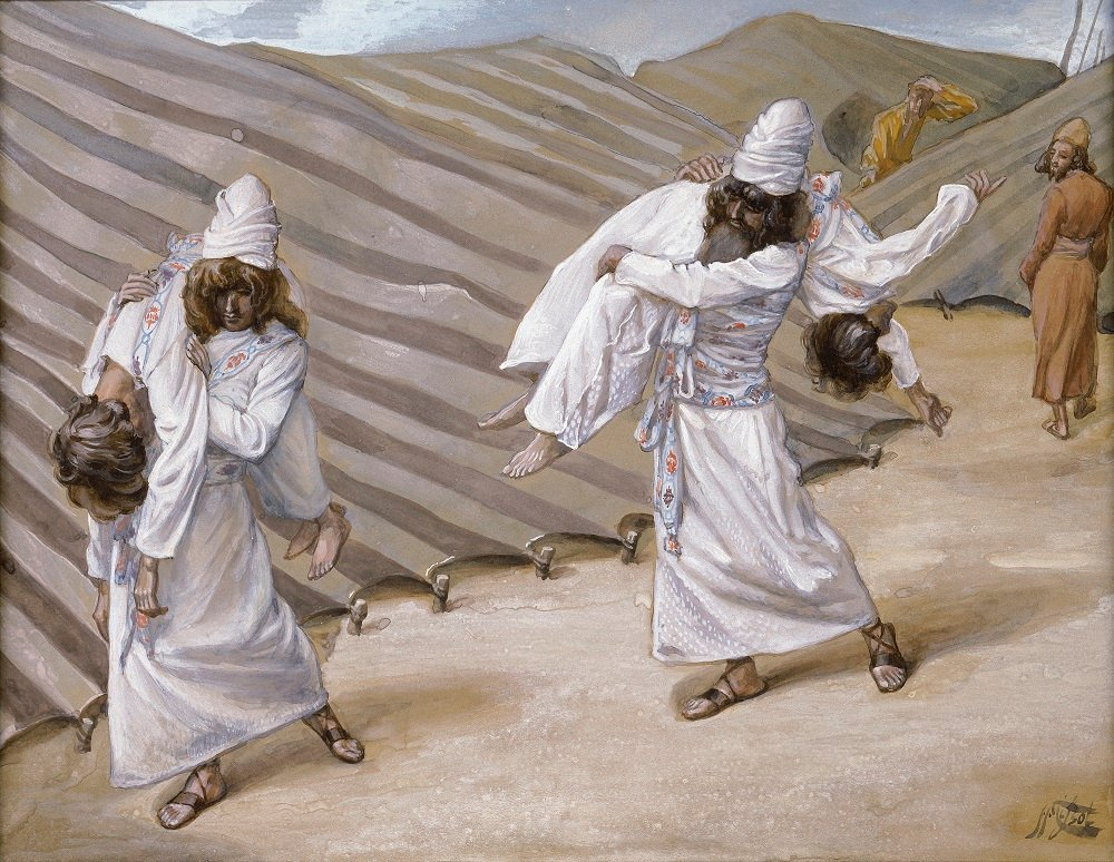 """That Is What YHWH Said"" — Moses Interprets Nadav and Avihu's Death"