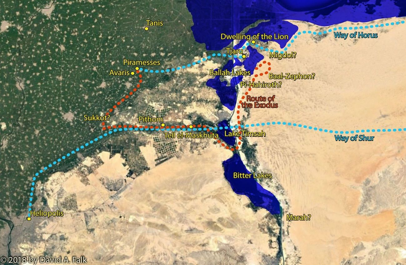 What We Know about the Egyptian Places Mentioned in Exodus