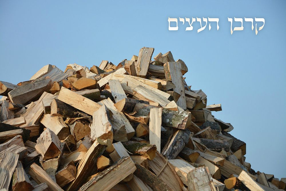 "The Wood Offering Celebration – ""As Written in the Torah"""