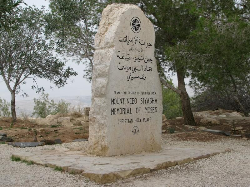 The Unknown Yet Known Place of Moses' Burial