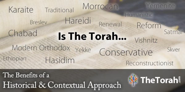 About: The Benefits of Studying Torah with Modern Biblical Scholarship