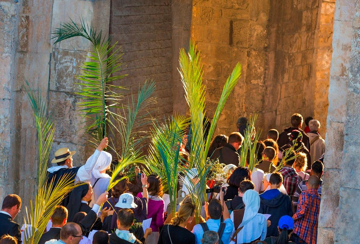 Sukkot in the New Testament: From Lulav and Hoshana to Palm Sunday