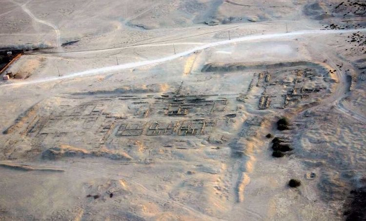 Pharaoh's Mudbrick Palace