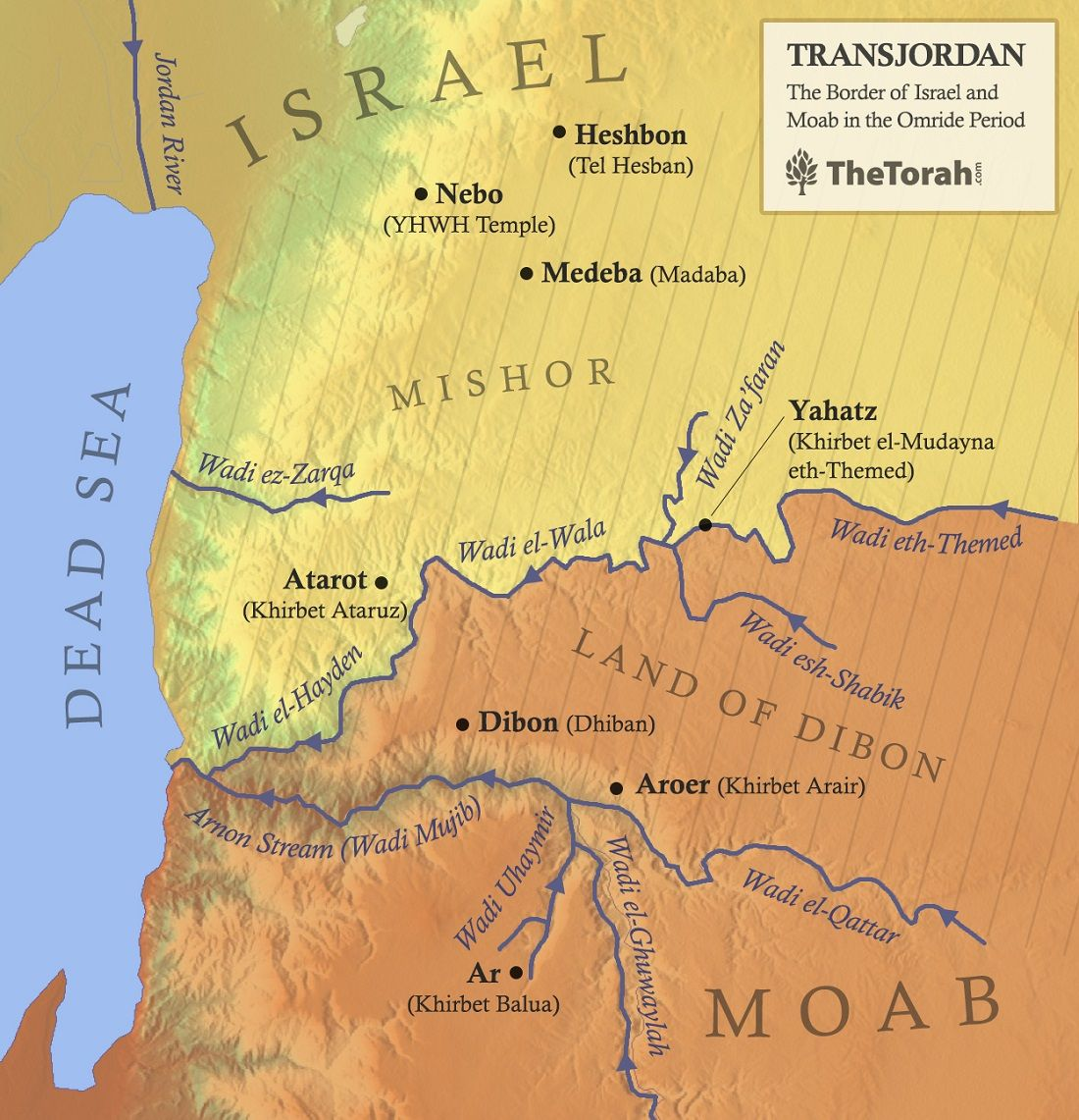 North Israelite Memories of the Transjordan and the Mesha Inscription
