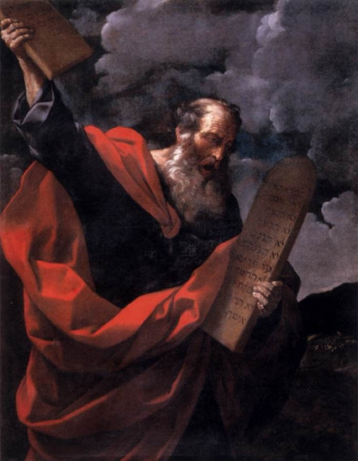 Moses Shatters the Tablets – in Anger