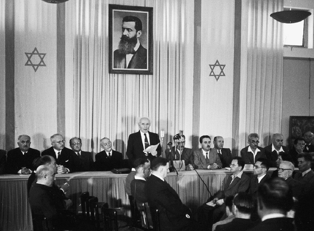 Israel's Declaration of Independence and the Biblical Right to the Land