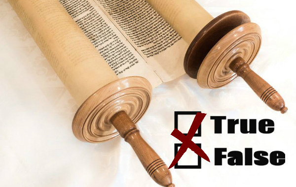 Basing Judaism on Truth: Does the Torah Lie?