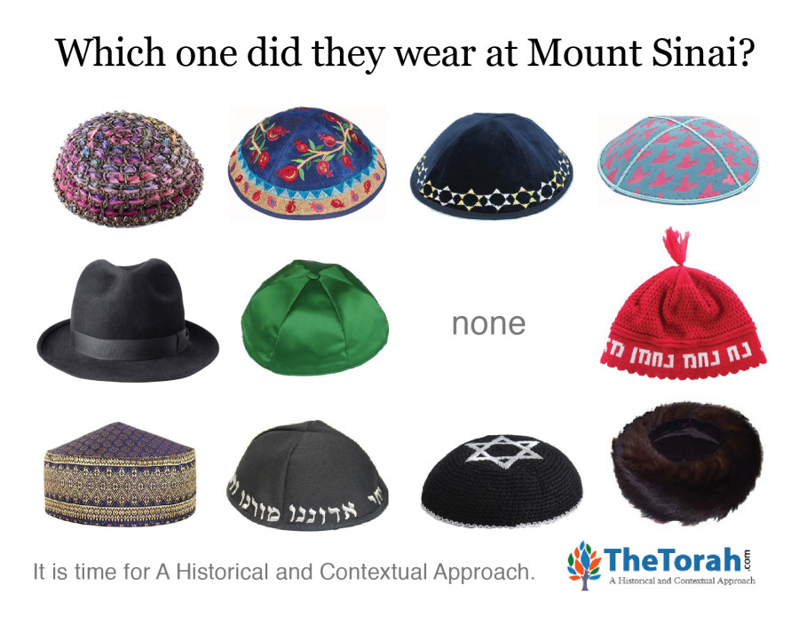 Mount Sinai: What Kind of Kippah?