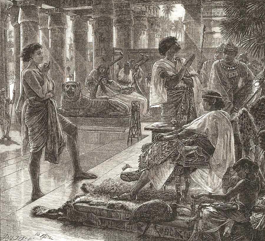 Joseph Interprets Pharaoh's Dreams — An Israelite Type-922 Folktale