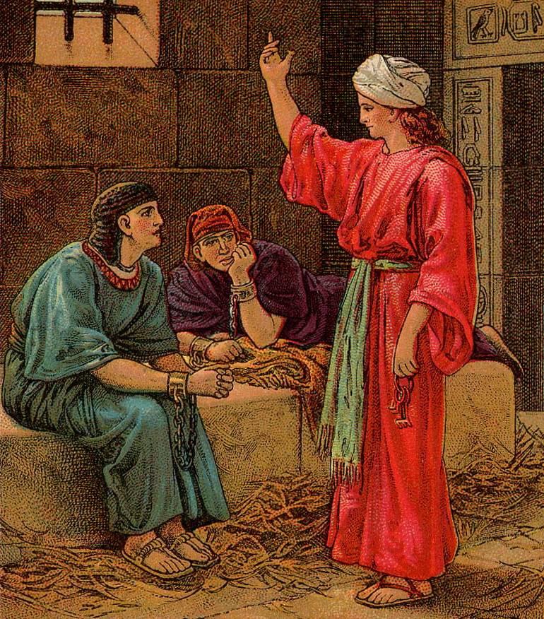 Joseph in Custody: Enslaved or Imprisoned