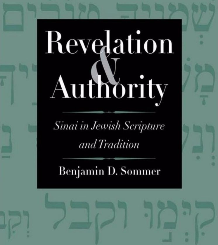 Revelation and Authority: Author's Presentation