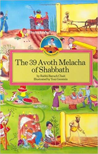 40 Minus 1 Melachot of Shabbat