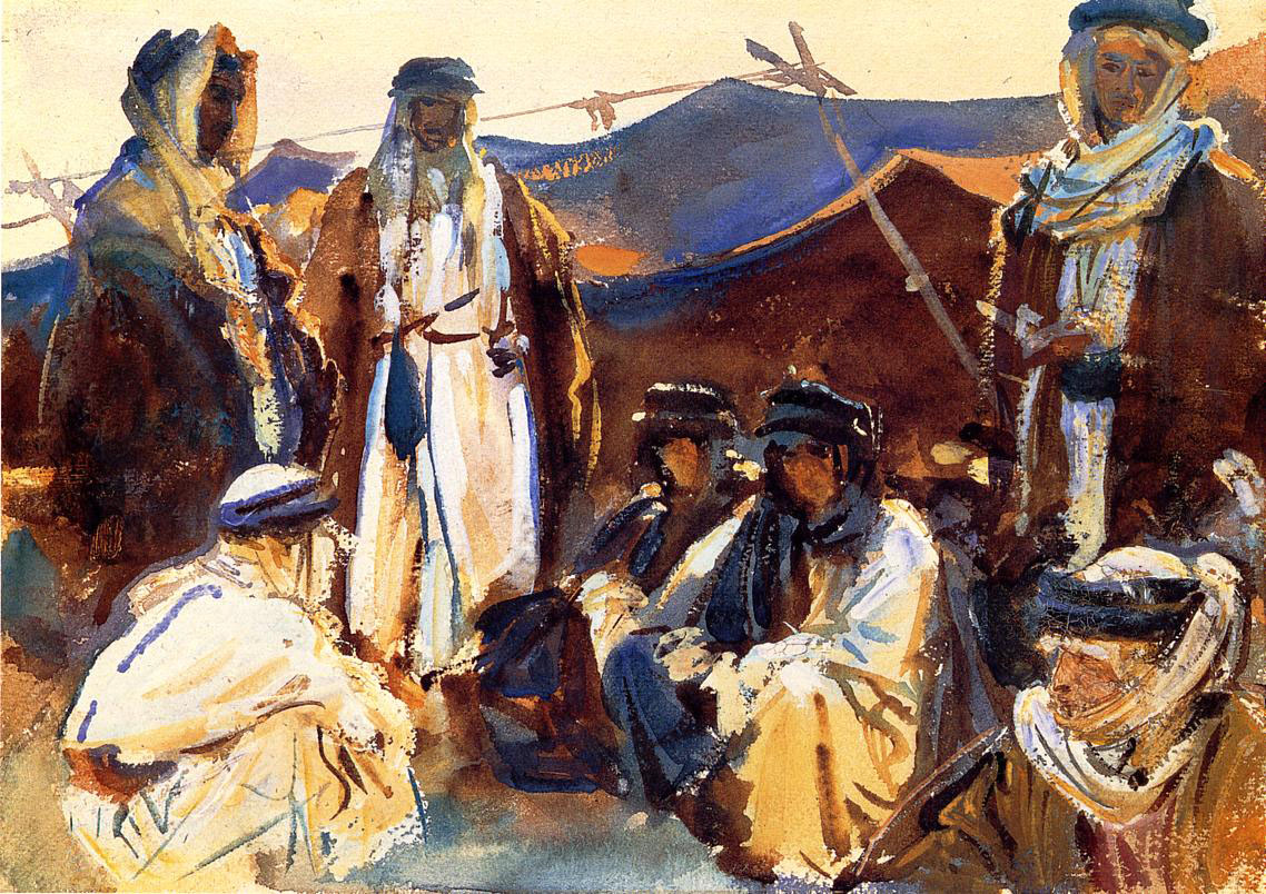 Abraham and Lot's Bedouin-Style Hospitality
